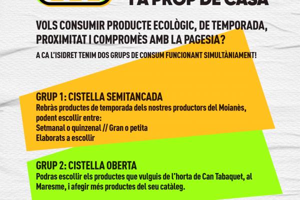 grups consum ecològic